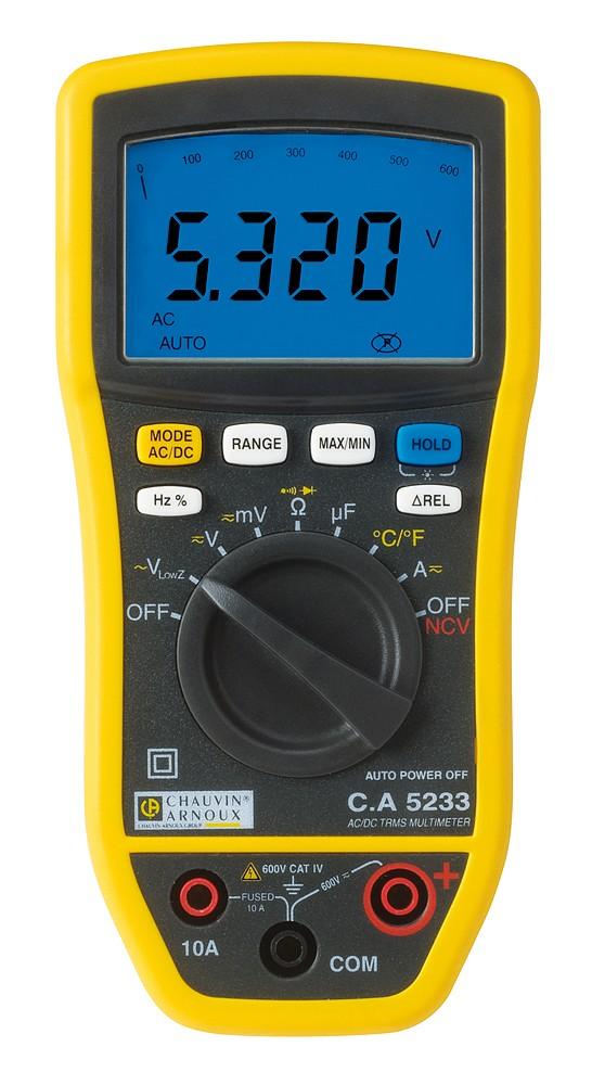 C A 5233 multimeter